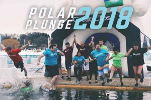 Award Staffing Our Giving Polar Plunge 2018