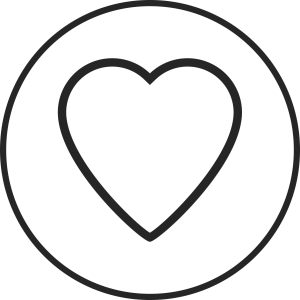 be nice heart icon