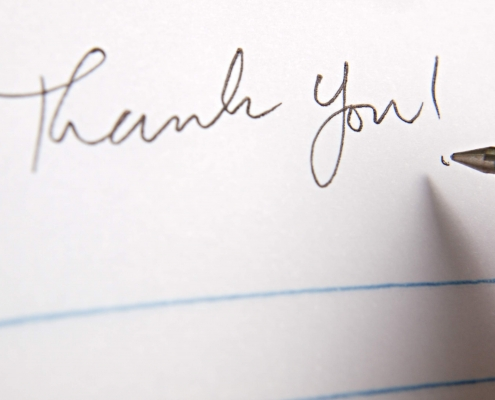 Why It's Import to Send a Handwritten Thank You